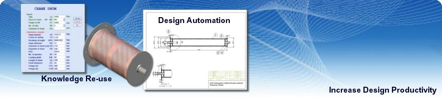 CAD Customisation Services from EGS India for Design and Drawing Automation
