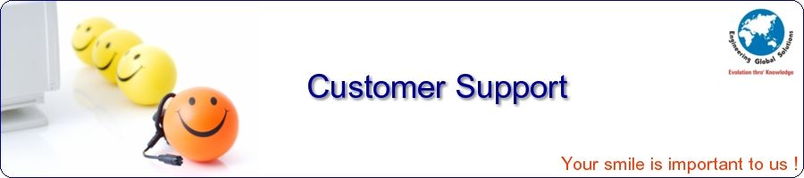 Customer Support at EGS India