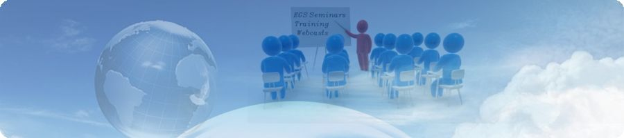 Events Calendar of Seminars, Technology Days, Webcasts conducted by EGS India