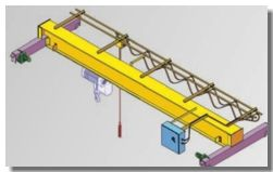 EOT Crane Design Validation Using SolidWorks Simulation