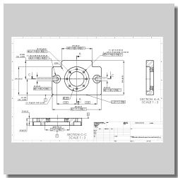 G D and T Drawing in Design Engineering developed by EGS India