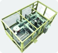 High Speed Pallet Transfer Machine Designed Using SolidWorks