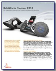 Download 3D CAD Software SolidWorks 2010 Brochure