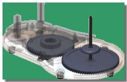 SolidWorks Motion Simulation in Gear Drive Train Design