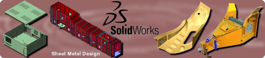 SolidWorks Sheet Metal Design Training in Chennai, Trichy, Coimbatore by EGS India Training Division - ACADEMIX