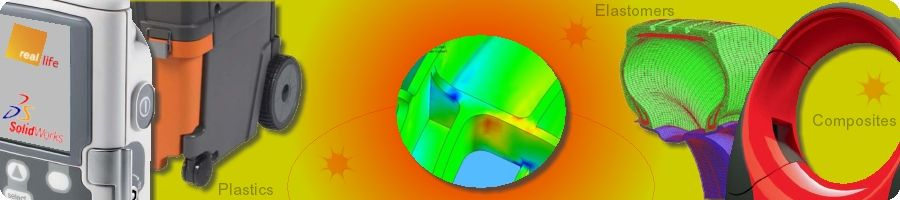 SolidWorks Simulation in Rubber and Plastic Product Design Validation