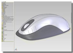 SolidWorks in Computer Mouse Design