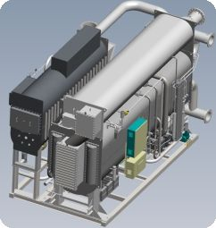 Vapour Absorption Chiller Design Using SolidWorks